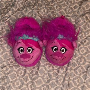 Other - Baby girl trolls slippers